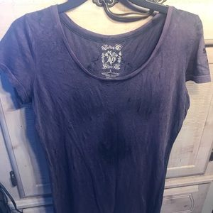 EUC Velvet Stone purple top from Buckle Large